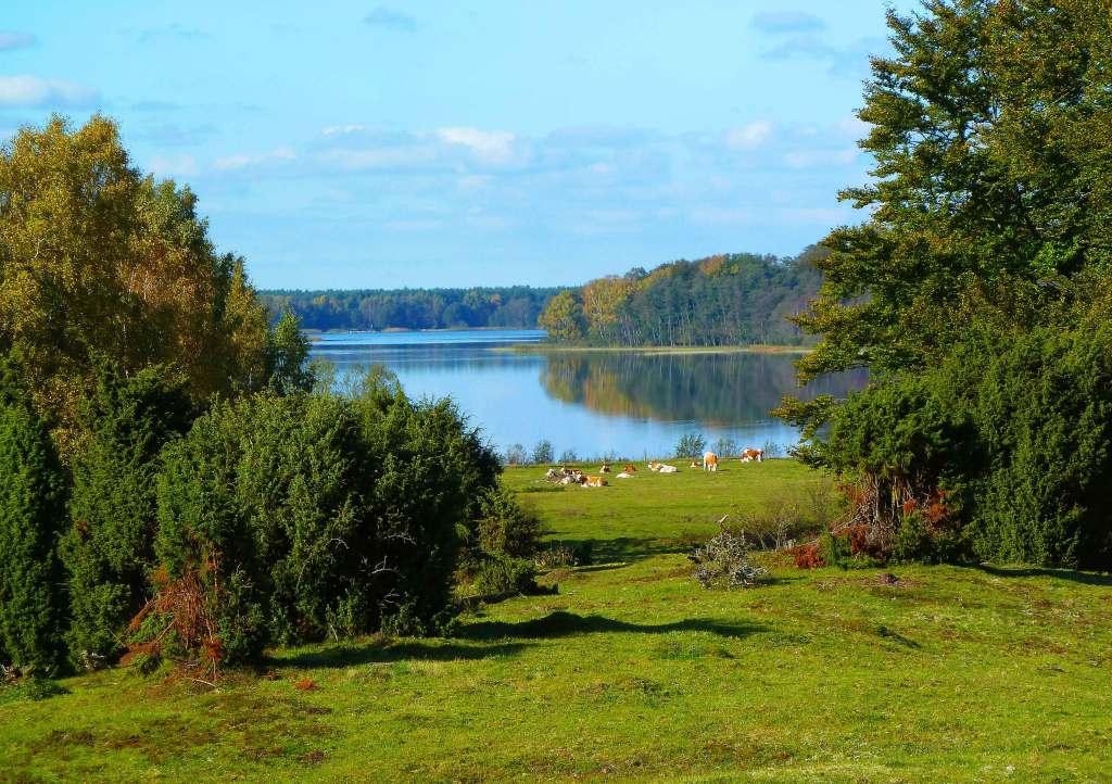 Utsikt mot Sövdesjön från sydost. Foto: Magnus Billqvist.