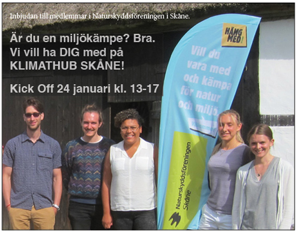 Hänge med KlimatHub Skåne!